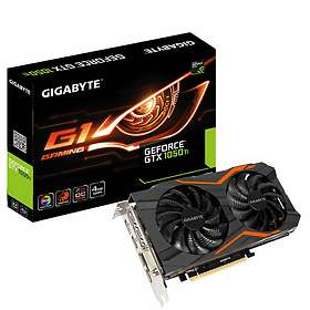 Gigabyte GeForce GTX 1050 Ti G1 Gaming 3xHDMI DP 4Go