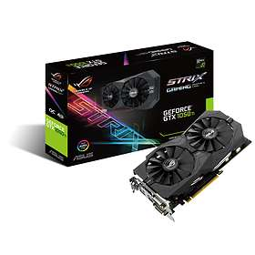 Asus GeForce GTX 1050 Ti ROG Strix Gaming OC HDMI DP 4Go