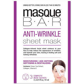 Masque Bar Anti-Wrinkle Sheet Mask 3x21ml