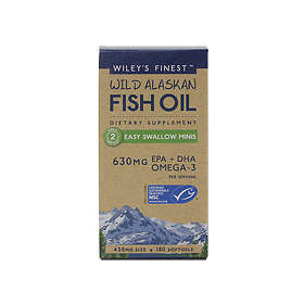 Wiley's Finest Wild Alaskan Fish Oil Minis 450mg 180 Capsules