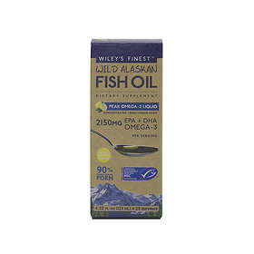 Wiley's Finest Wild Alaskan Fish Oil Peak 2150mg 125ml