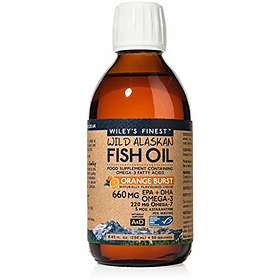 Wiley's Finest Wild Alaskan Fish Oil 660mg 250ml