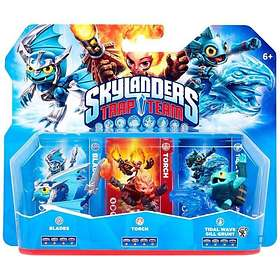 Skylanders Trap Team - Blades/Torch/TW Grill Grunt - 3 Pack