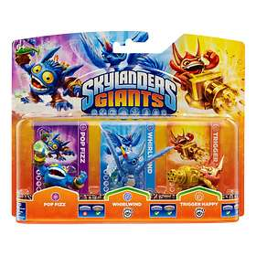 Skylanders Giants - Popfizz/Tr.Happy/Whirlwind(G) - 3 Pack