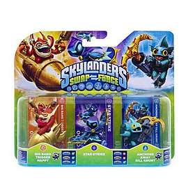 Skylanders Swap Force - Heavy Duety Sprocket/TB Chop Chop/Scorp - 3 Pack