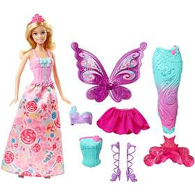 Barbie Fairytale Dress Up Gift Set DHC39