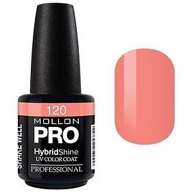 Mollon Pro Hybrid Shine UV Colour Coat Nail Polish 15ml