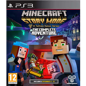 Minecraft: Story Mode - The Complete Adventure (PS3)