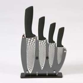Rocknife Block Knife Set 4 Knives