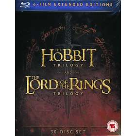 The Hobbit Trilogy + The LOTR Trilogy - Extended Edition