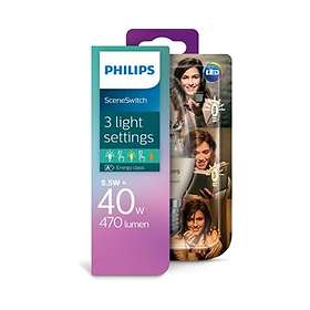Philips SceneSwitch LED Candle 470lm 2700K E14 5.5W