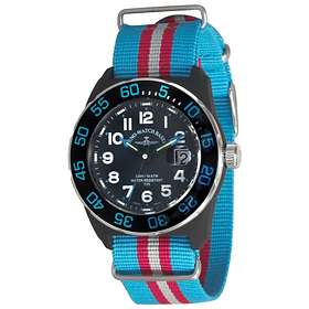 Zeno-Watch Diver Look H3 Teflon 6594Q-a14-Nato-47