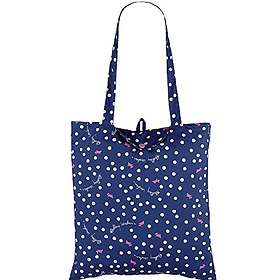Radley Vintage Dog Dot Foldaway Tote Bag