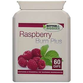 Better Bodies Raspberry Ketone Burn 6000mg 60 Capsules