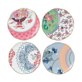 Wedgwood Butterfly Bloom Tallrik Ø20cm 4-pack