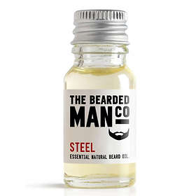 The Bearded Man Co Steel Beard Oil 10ml