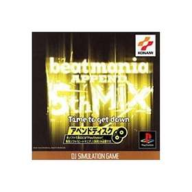 BeatMania Append 5th Mix: Time to Get Down (JPN) (PS1)