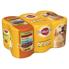 Pedigree Adult Cans Jelly 6x0.385kg