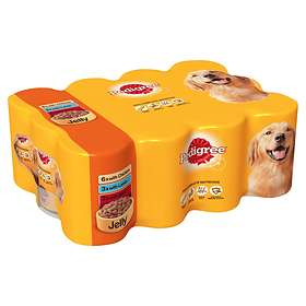 Pedigree Adult Cans Jelly 12x0.385kg