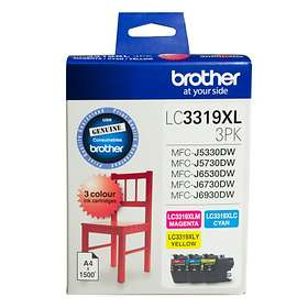 Brother LC3319XL (Cyan/Magenta/Yellow)
