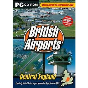 Flight Simulator 2002: British Airports Central England (Expansion) (PC)