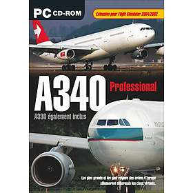 Flight Simulator 2002/2004: A340 Professional (Expansion) (PC)