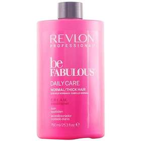 Revlon Be Fabulous Normal/Thick Hair Cream Conditioner 750ml