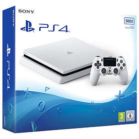 Sony PlayStation 4 (PS4) Slim 500GB - White Edition