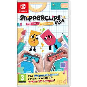 Snipperclips Plus - Cut it Out, Together! (Switch)