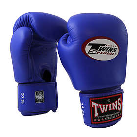 Twins Velcro Leather Boxing Gloves