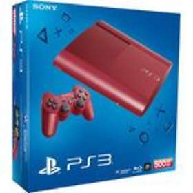 Sony PlayStation 3 (PS3) Slim 500GB - Red Limited Edition