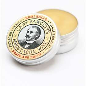 Captain Fawcett Moustache Wax Ricki Hall Booze & Baccy 15g