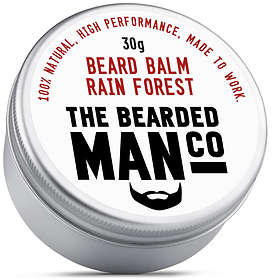 The Bearded Man Co Rain Forest Beard Balm 30g