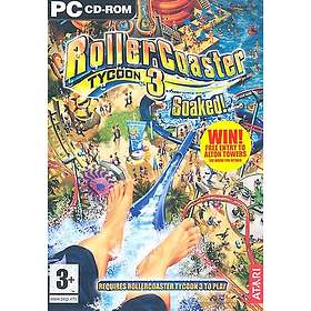 RollerCoaster Tycoon 3: Soaked! (Expansion) (PC)