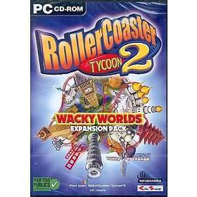 RollerCoaster Tycoon 2: Wacky Worlds (Expansion) (PC)