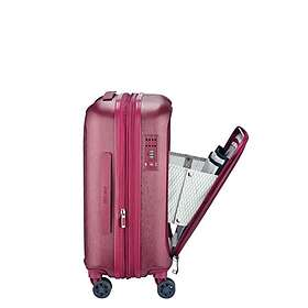 Delsey Grenelle 4 Double Wheels Expandable Cabin Trolley Case 55cm