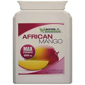 Better Bodies African Mango Max 6000mg 120 Tabletter