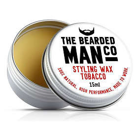 The Bearded Man Co Tobacco Moustache Wax 15g