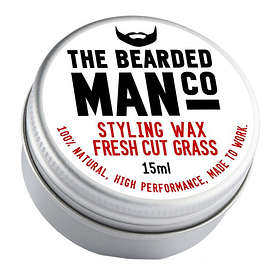 The Bearded Man Co Leather Moustache Wax 15g