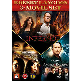 Robert Langdon - 3 Movie Set