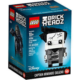 LEGO Brick Headz 41594 Captain Armando Salazar