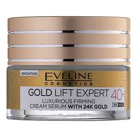 Eveline Cosmetics 24k Gold Lift Expert 40+ Face Firming Cream Serum 50ml