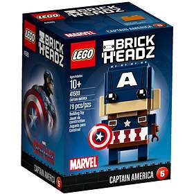 LEGO Brick Headz 41589 Captain America