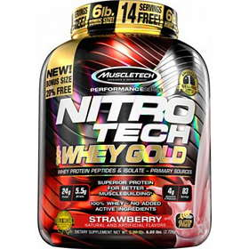 MuscleTech Nitro-Tech Whey Gold 0.45kg