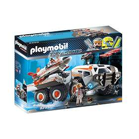 Playmobil City Action 9255 Camion et navette de la Spy Team