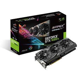 Asus GeForce GTX 1080 Ti ROG Strix Gaming 2xHDMI 2xDP 11Go