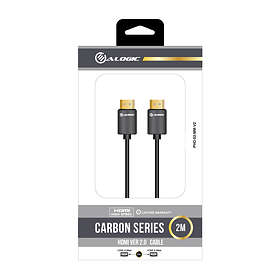 Alogic Carbon HDMI - HDMI High Speed with Ethernet 2m