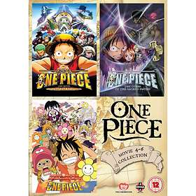 One Piece - Movie 4-6 Collection (UK)