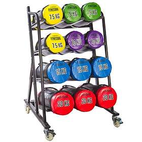Gymstick Fitness 12 Bags Rack