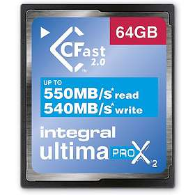 Integral UltimaPro X2 CFast 2.0 64Go